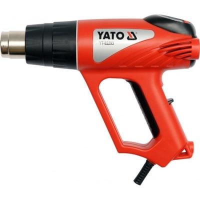 Пистолет горячего воздуха 2000W Yato YT-82293 ЖК Аксессуары Чемодан