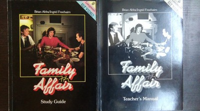 Family Affair Study Guide +  Teacher's Manual NOWE