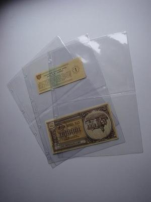 Strony na banknoty A4 typ 2 nowość