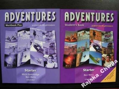 Adventures Starter Podręcznik+Ćwiczenia +2 CD NOWE