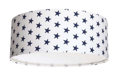 Hviezdy Strop kolo svetlo modré hviezdy 40 cm