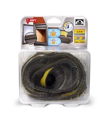 keramické 10mmx2mm Kábel / 2,5 m plochou pre krb