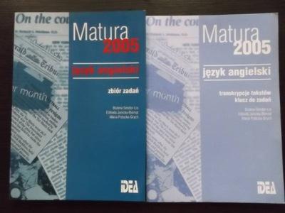 Matura 2005 język angielski Zbiór zadań+Klucz+Kase