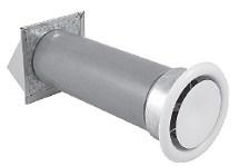 с anemostatem NP110A-OC воздухозаборник оцинкованный
