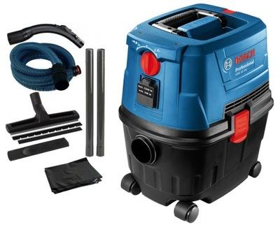 Priemyselný vysávač, príslušenstvo - BOSCH GAS 15 PS priemyselný vysávač + ROBO-KOP