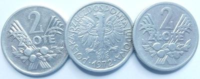 Монета 2  золотые Ягоды 1972 году хороший