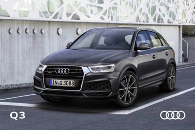Audi Q3 prospekt model 2017