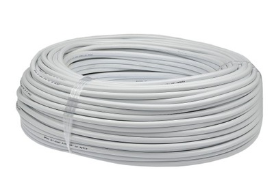 Kábel OHM kábel 3x0,75 kábel biely 100m