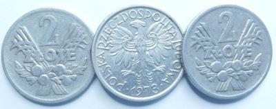Монета 2  золотые Ягоды 1973 году хороший