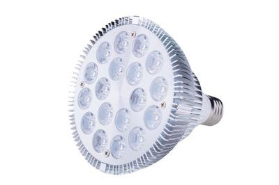LED RÁSŤ lampa 18W E27 IR IR hps WAW