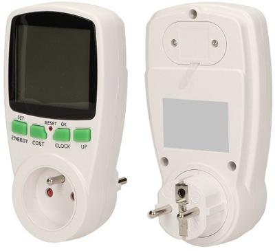 ELEKTROMER, power meter watomierz displej