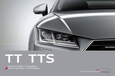 Audi TT TTS prospekt 2015 128 str.