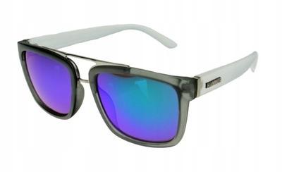 Męskie okulary przeciwsłoneczne HAMMER 1598 metal
