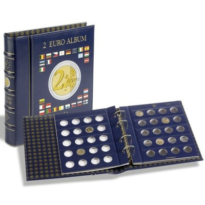 Альбом Vista ??? монет 2 Евро - Leuchtturm