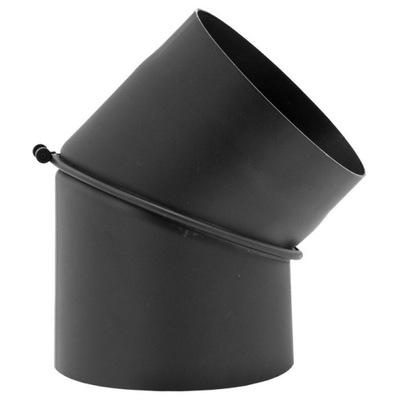 koleno 45 * FI 130 mm výfukový krb