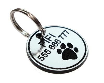 Идентификатор adresówka для маленькой собаки гравер