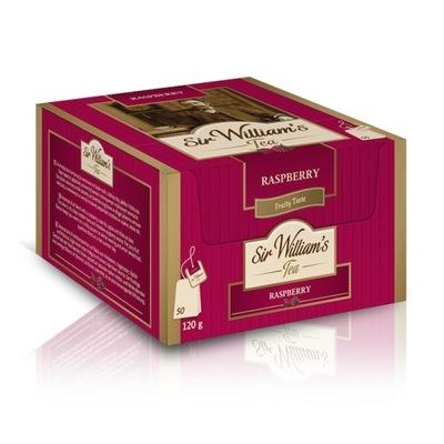 чай Сэр Уильямс Tea Raspberry 50шт