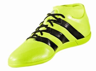 Buty piłkarskie ADIDAS ACE 16.3 FG J (skórzane) rozm.37.3