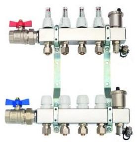 Podlahové vykurovanie - Distribútor CAPRICORN 9 pre prémiovú podlahu 1