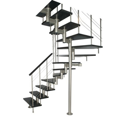 Лестница КОРА модель микс плюс 07 У-180 15 элементов