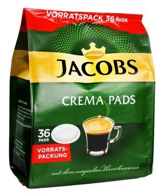 кофе ДЖЕЙКОБС Kronung Crema 36 pads SENSEO пакетики