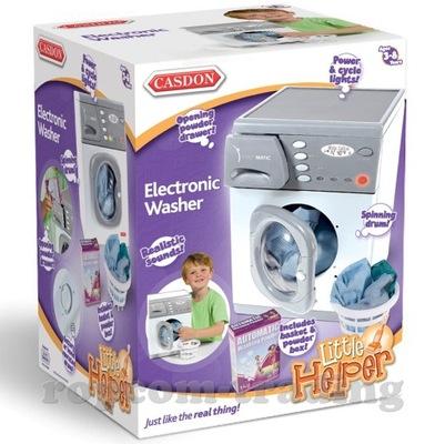 Detská práčka - VEĽKÉ Elektronická práčka, SPOTREBIČE CASDON 24H