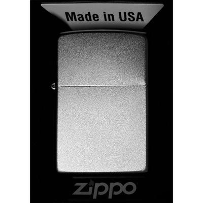 Зажигалка ZIPPO Satin Chrome
