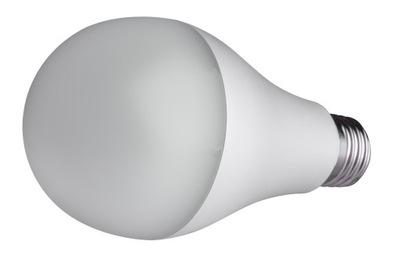 Лампа LED E27 2835 SMD 2180lm Холодная 22W шар CCD