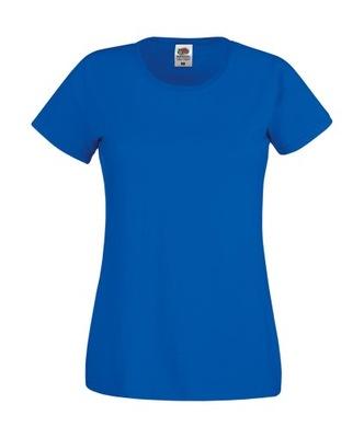 DAMSKA KOSZULKA T-SHIRT FRUIT original r. blue M