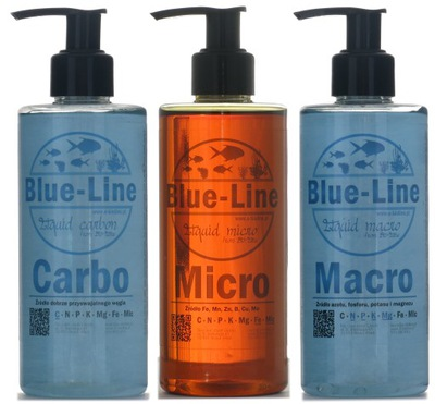 Blue-Line Micro, Macro и Карбо - удобрения ??? аквариум