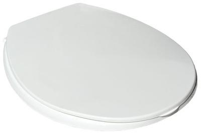 WC sedátko NA WC misy univerzálne BIELE HLADKÉ
