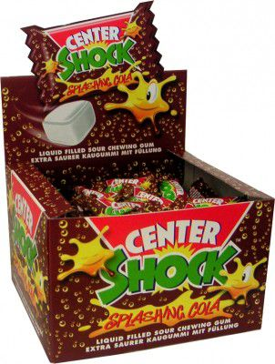 Резинки Chupa Chups Center Shock Кола резинка ! 10 штук