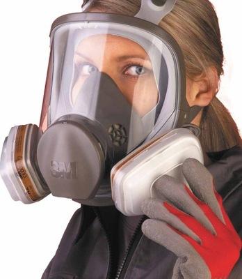 маска газовая краска 3M 6800 CAŁOTWARZOWA М /L
