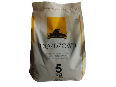 DROŻDŻOWIT дрожжи кормовые+ селен 5 кг