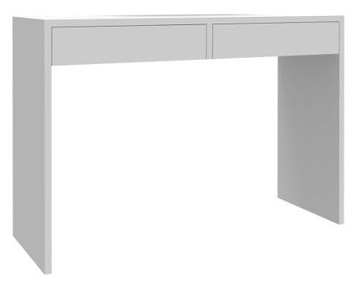 Рабочий стол ASTRAL белое 115см 2 ящик