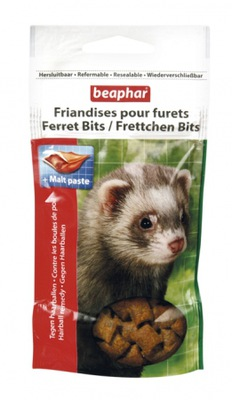 Beaphar kitty-milk, kitty-milk Ferret Bits лакомство для хорьков 35g