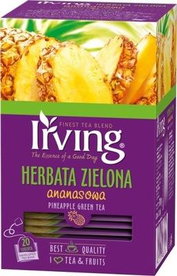 чай зеленый IRVING Ananasowa 20 штук