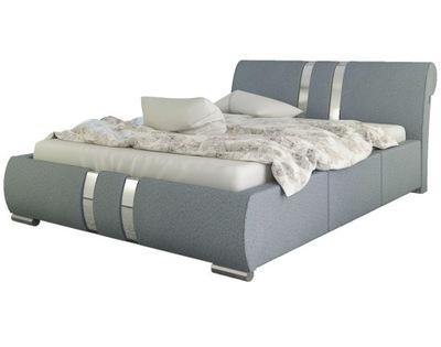 кровать мягкая постель ENZO 180х200 С МАТРАСОМ