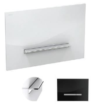 Splachovacie tlačidlo pre závesné WC - TLAČIDLO CHROME 2-QUANTUM MEPA SIRIUS A