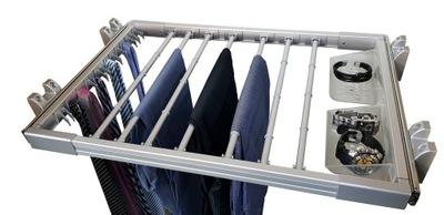 Поднимающийся вешалка брюки для шкафы-купе гардеробные LXS