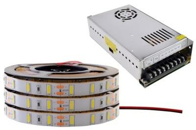 fb0208381 Osvetlenie nábytku LED pás - ZESTAW taśma LED 7020 Samsung PREMIUM biała 15m