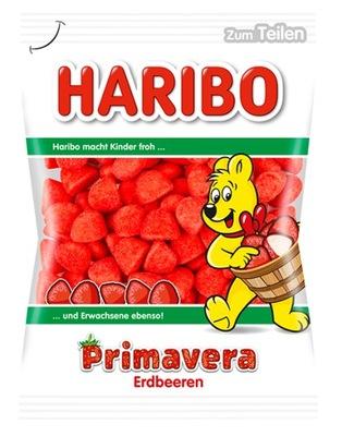 Haribo Primavera клубника сахарные 200 г