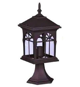 poschodí lampa priemer E27 žiarovka nízke BLACK