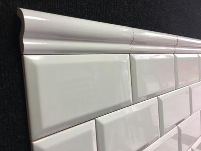Tamoe bianco Декор London 5 /20 белое плитки ПАРАДА