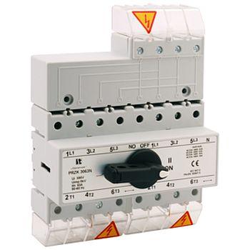 Prepínač siete - riadený disconnectors RSI 80A 4P-4080\W02
