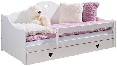 Детская кровать ЗОСЯ 160x80 + матрас Белый