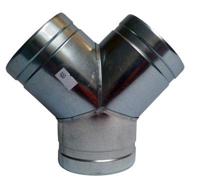Tee Y 3x200 hadice potrubia spiro, Rôznych veľkostí