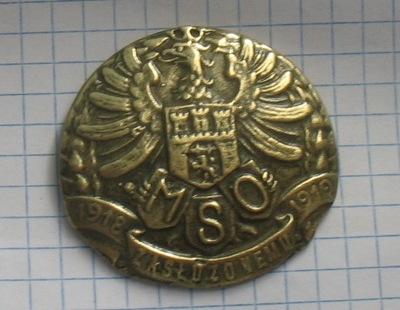 знак MSO 1918 1919 Zasłużonemu