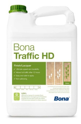 BONA TRAFFIC HD полумат - 4 ,95 L - СУЛЕЮВЕК