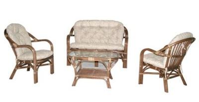 Záhradný set nábytku - Sada ratanového nábytku GOLF ratan ratan